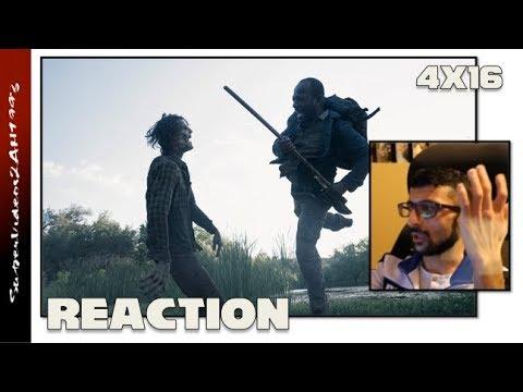 4x16 FINALE REACTION - 'I Lose Myself' || Fear The Walking Dead Season 4