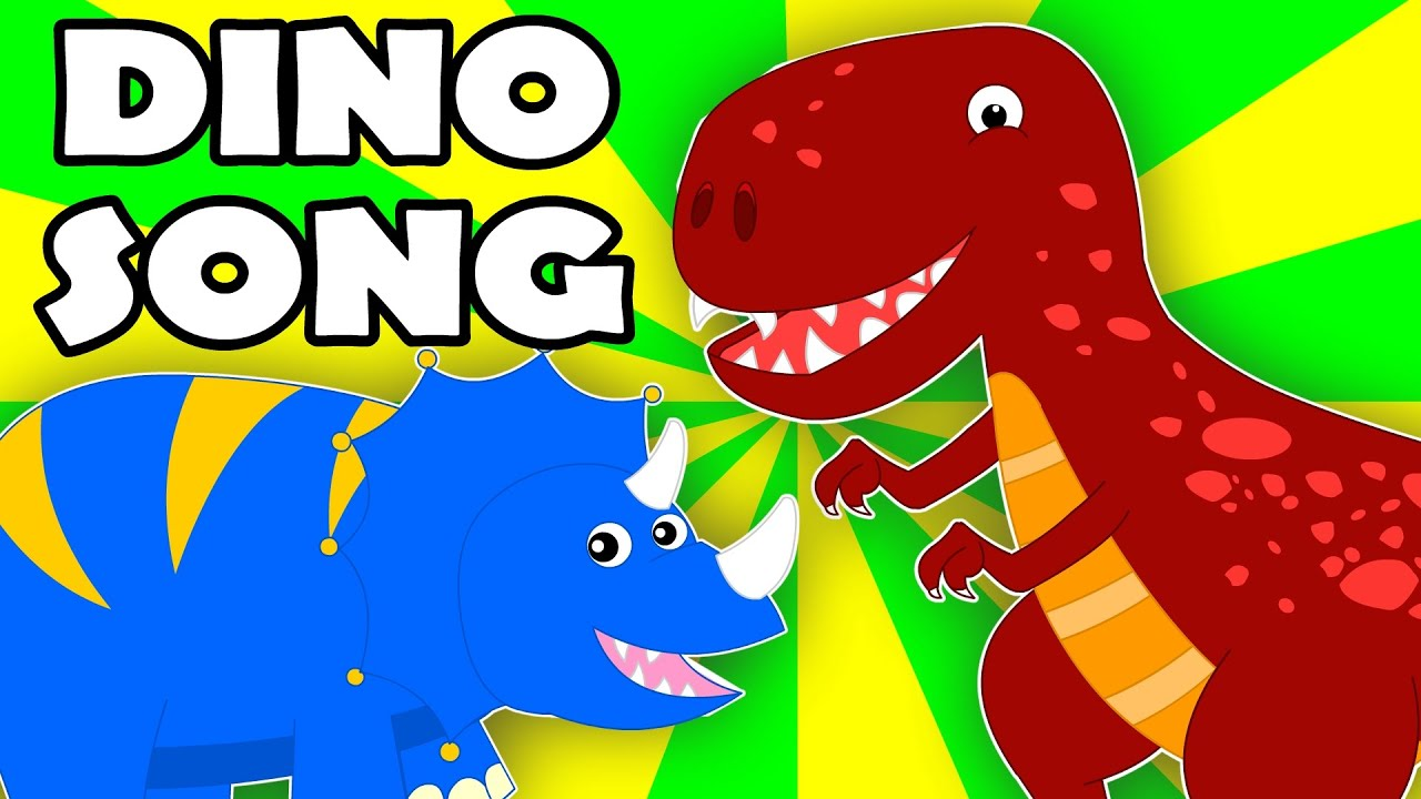 The Dinosaurs Song Dino Song Nursery Rhymes Songs