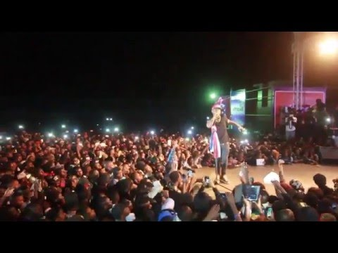 Davido Killing It in Gambia Concert 2016