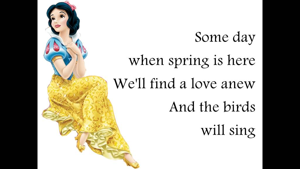 Some day my prince will come - Snow White and the seven dwarfs ...