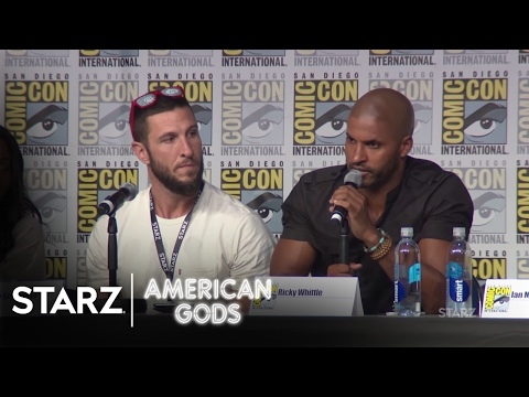 American Gods | 2016 San Diego Comic Con Panel | STARZ