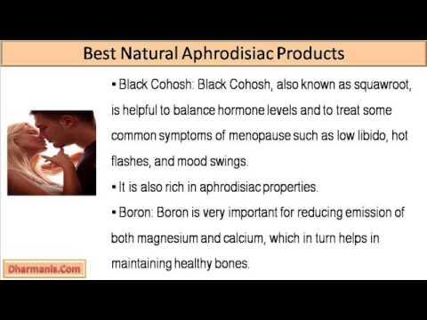Natural aphrodisiac men