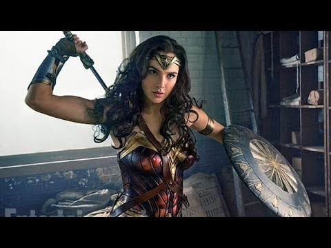 Wonder Woman in Movies & TV 1974 to 2017  Evolution video clip