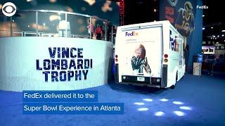 WEB EXTRA: Vince Lombardi Trophy