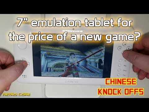 "7"" Gaming Tablet for under 50 US Dollars - Chinese Knock Offs - 4K"
