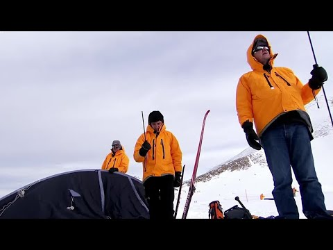Cold Weather training for dummies | Top Gear Polar Special Pt.1 | Now in HD | BBC