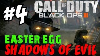 "BLACK OPS 3 ZOMBIES: Shadows of Evil! ★ ""LIVE EASTER EGG RUNTHROUGH! [4]"" Let"