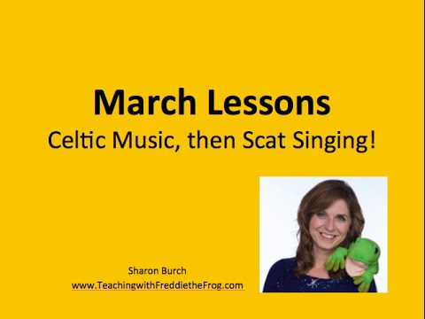 March Music Lessons: Celtic and Scat Singing!