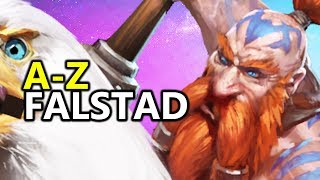 ♥ A - Z Falstad - Heroes of the Storm (HotS Gameplay)