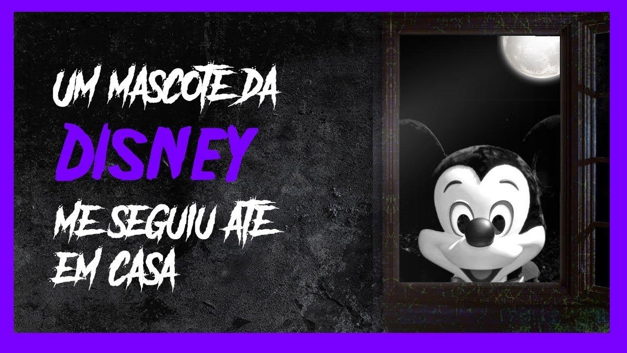 Um mascote da Disney me seguiu até em casa - Podcast de Terror