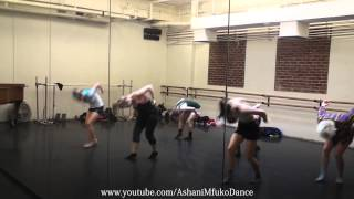 """Skyfall"" by Adele: Joffrey Ballet School Jazz Class Choreography - Ashani Mfuko"