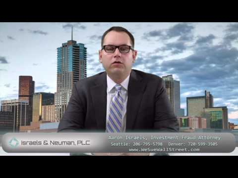 Financial Advisor Negligence Attorney Denver And Seattle