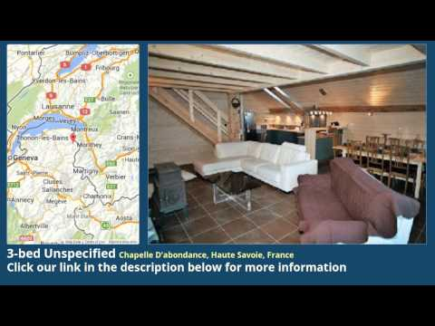 3-bed Unspecified for Sale in Chapelle D'abondance, Haute Savoie, France on frenchlife.biz