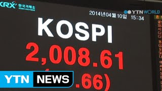 KOSPI rebounds to 2,000 range after 5 months / YTN
