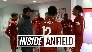 Inside Anfield: Liverpool 2-0 Fulham | Exclusive tunnel cam from victory on Remembrance Sunday