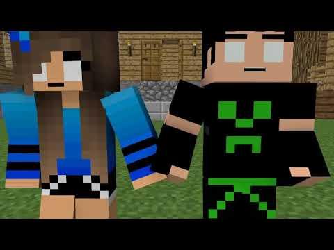 Love Story - Minecraft Animation - Видео из Майнкрафт (Minecraft)