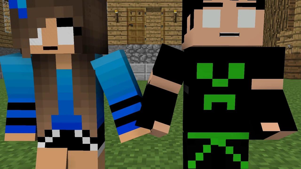 Love Story - Minecraft Animation
