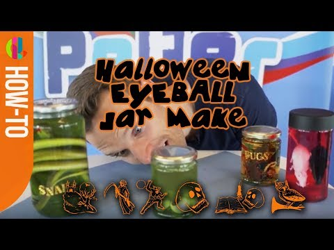 Spooky Halloween Glass Jar Make With Greg Foot