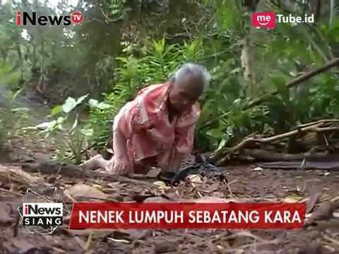 Nenek Dengan Keterbatasan Ekonomi di Wonogiri yang Hidup Sebatang Kara - iNews Siang 11/04