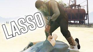 Red Dead Redemption Lasso  | Gta 5 Mod Showcase