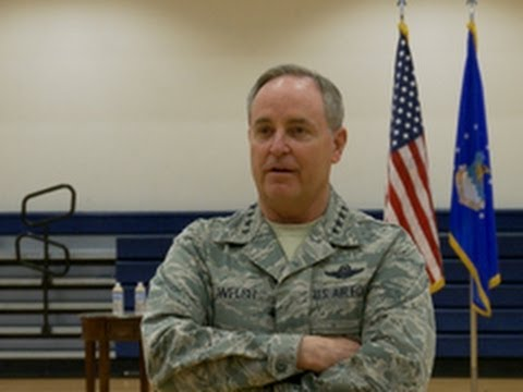 CSAF visits Buckley, connects with Airmen