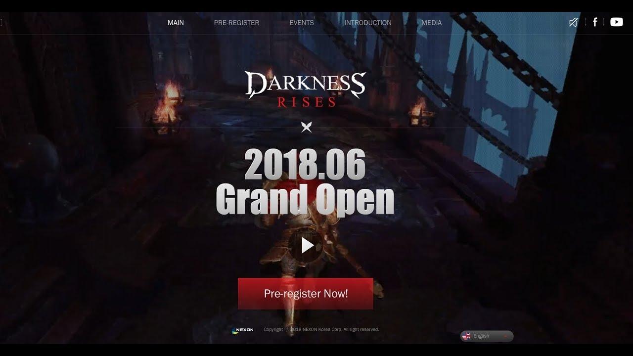 Darkness Rises Global Server Pre Register Open - Самые