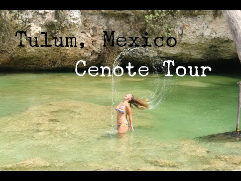 CENOTE TOUR - TULUM - MEXICO - TRAVEL VLOG