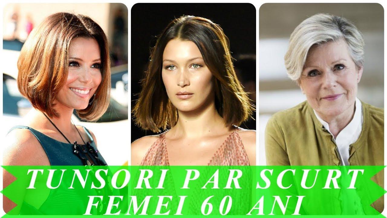 Modele De Tunsori Par Scurt Femei In Varsta 2018 Youtube