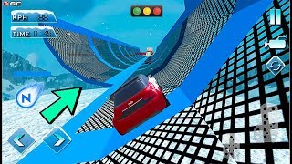 Free Car Extreme Snow Racing - Snow Stunts Car Race Game - Android GamePlay