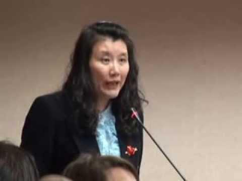 2013.11.19 台灣人權之路與同(跨)性婚姻入法公聽會--同志父母愛心協會郭媽媽