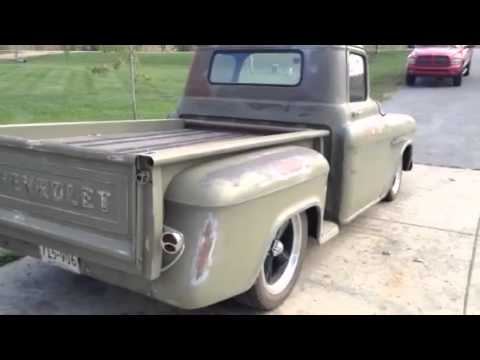1956 chevy pickup truck ls1 corvette engine youtube. Black Bedroom Furniture Sets. Home Design Ideas