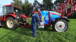 Opryskiwacz przyczepiany hydrauliczny Biardzki 2000l 15m