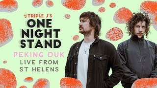 Peking Duk live at triple j's One Night Stand St Helens 2018