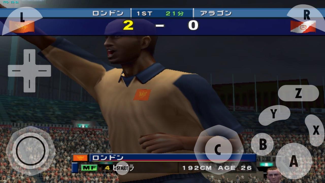 Test game WINNING ELEVEN 6(GC) Redmi not 3 pro(KENZO) - YouTube