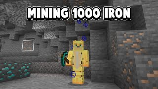 Mining Iron For Several Hours So People Stop Asking For An iron Farm