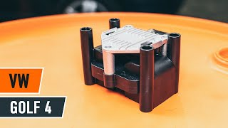 How to change ignition coil onVW GOLF 4[TUTORIAL AUTODOC]