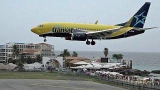 St Maarten Amazing Plane landing and takeoff footage at Princess Juliana Airport # 8