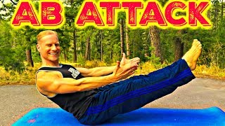 EPIC AB ATTACK Workout - 12 Minute Bodyweight Abs Class