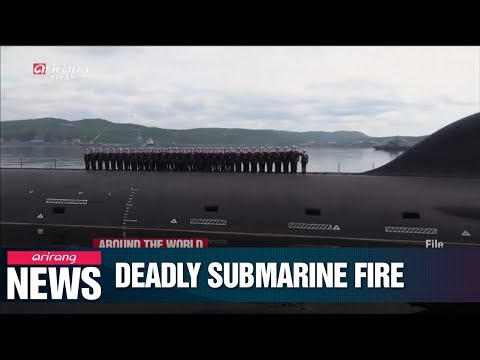 Fire kills 14 sailors aboard Russian navy research submarine, no further details released