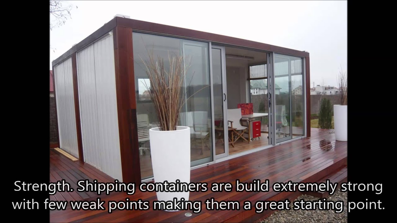 steel container homes - build a container home plus 101 - youtube