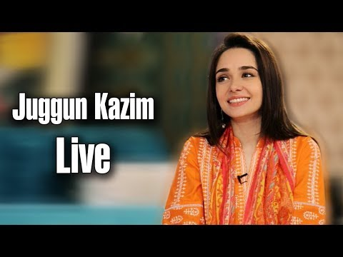Juggun Kazim Live For The First Time on YouTube