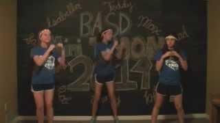 BASD Minithon Line Dance 2014