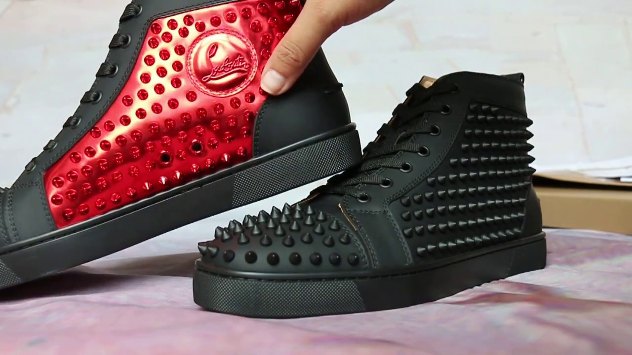 22d26f0f9eef Super Perfect High Top Christian Louboutin HD Review - YouTube
