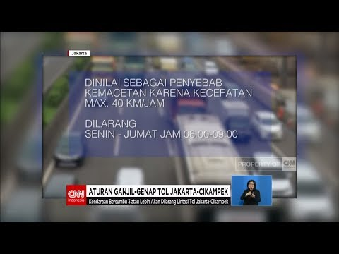 Mulai 12 Maret, Tol Jakarta - Cikampek Terapkan Sistem Ganjil Genap