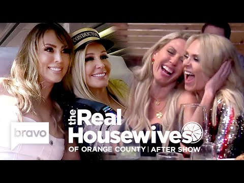 Kelly Dodd Reveals Why She Wasn't Offended By The Train-Themed Party | RHOC After Show (S14 E11)