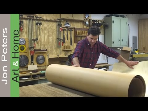 How To Use Wood Veneer - Unboxing and a few tips