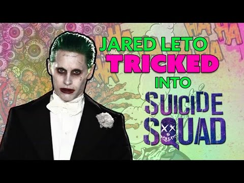 Jared Leto TRICKED Into Suicide Squad?  - The Know
