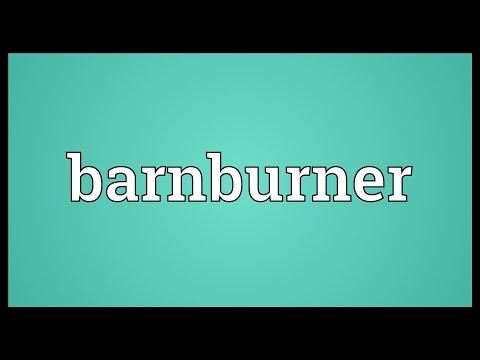 Header of Barnburner
