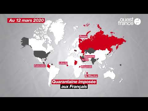 Coronavirus: ces pays où les Français ne peuvent plus voyager (pour le moment)