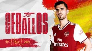 Welcome to Arsenal, Dani Ceballos! | #HolaDani